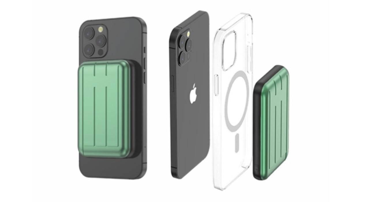 Do sprzedaży trafiają pierwsze powerbanki z MagSafe dla iPhone 12 / 12 Pro polecane, ciekawostki powerbank, magsafe, iPhone 12  Na rynku zaczynają pojawiać się pierwsze powerbanki obsługujące MagSafe. Dziś pokażemy Wam pierwsze z nich. Są to urządzenia firmy Charge Fast. PowerBank magsafe
