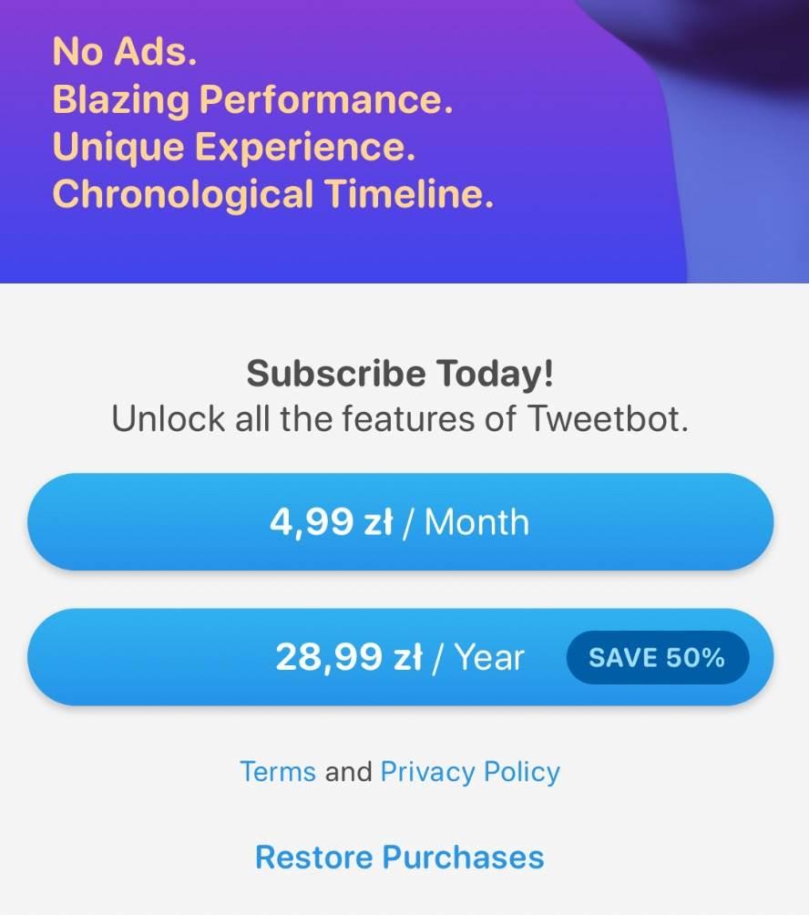 W App Store pojawił się nowy Tweetbot 6 polecane, ciekawostki Update, tweetbot 6 na iOS, Tweetbot 6, skad pobrac, skąd pobrać, iPhone, iOS, download, App Store  W App Stor pojawiła się nowa wersja na pewno dobrze wam znanej aplikacji Tweetbot 6. Najnowsza wersja oznaczona numerkiem 6 wprowadza kilka istotnych zmian. 1@2x 11