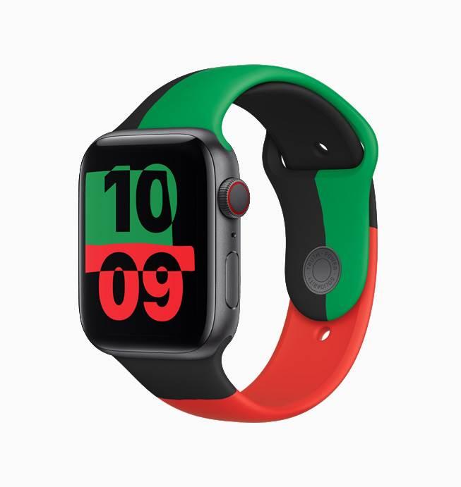 Apple wypuściło limitowaną edycję Apple Watch Series 6 Black Unity polecane, ciekawostki Apple Watch Series 6 Black Unity, Apple Watch  Apple wydało limitowaną edycję Apple Watch Series 6 Black Unity na cześć Black History Month.  AW6