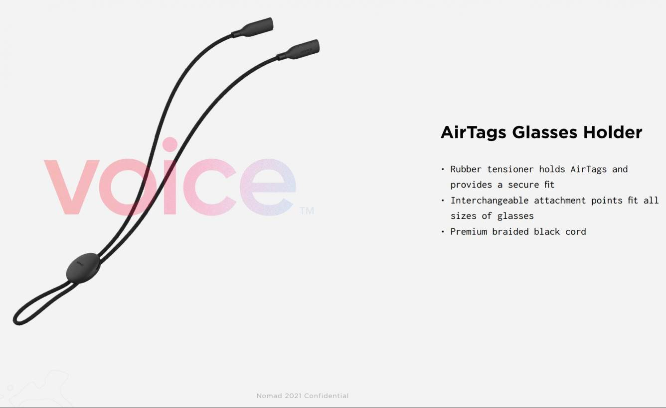 W sieci pojawiły się zdjęcia akcesoriów Nomad dla Apple AirTags polecane, ciekawostki Lokalizator, Apple, AirTags  W oczekiwaniu na rychłe wydanie pierwszych urządzeń śledzących wyszukiwania firmy Apple, producenci akcesoriów innych firm zaczęli wypuszczać różne etui dla AirTags. Airtgas 2