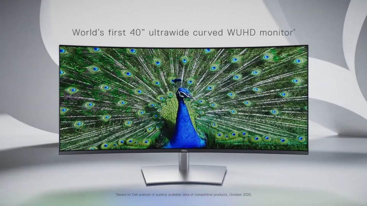 Firma Dell przedstawia swój pierwszy 40-calowy zakrzywiony monitor 5K polecane, ciekawostki monitor 5K, Dell, cena, 40-calowy monitor  Firma Dell zaprezentowała dziś, 6 stycznia, pierwszy 40-calowy, ultraszerokokątny, zakrzywiony monitor 5K dla projektantów i twórców grafiki. Dell 1