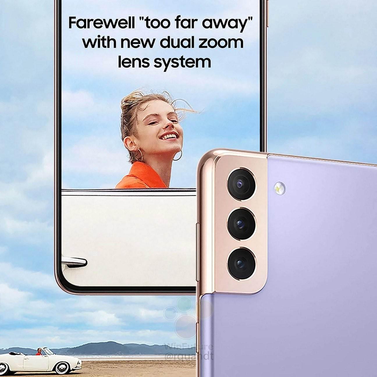 Co znajduje się w pudełku Samsung Galaxy S21 polecane, ciekawostki Samsung Galaxy S21, Samsung  Przed zbliżającą się zapowiedzią nowych flagowych smartfonów Samsunga niemiecka edycja WinFuture udostępniła oficjalne zdjęcia opakowań detalicznych całej serii Galaxy S21. S21 2