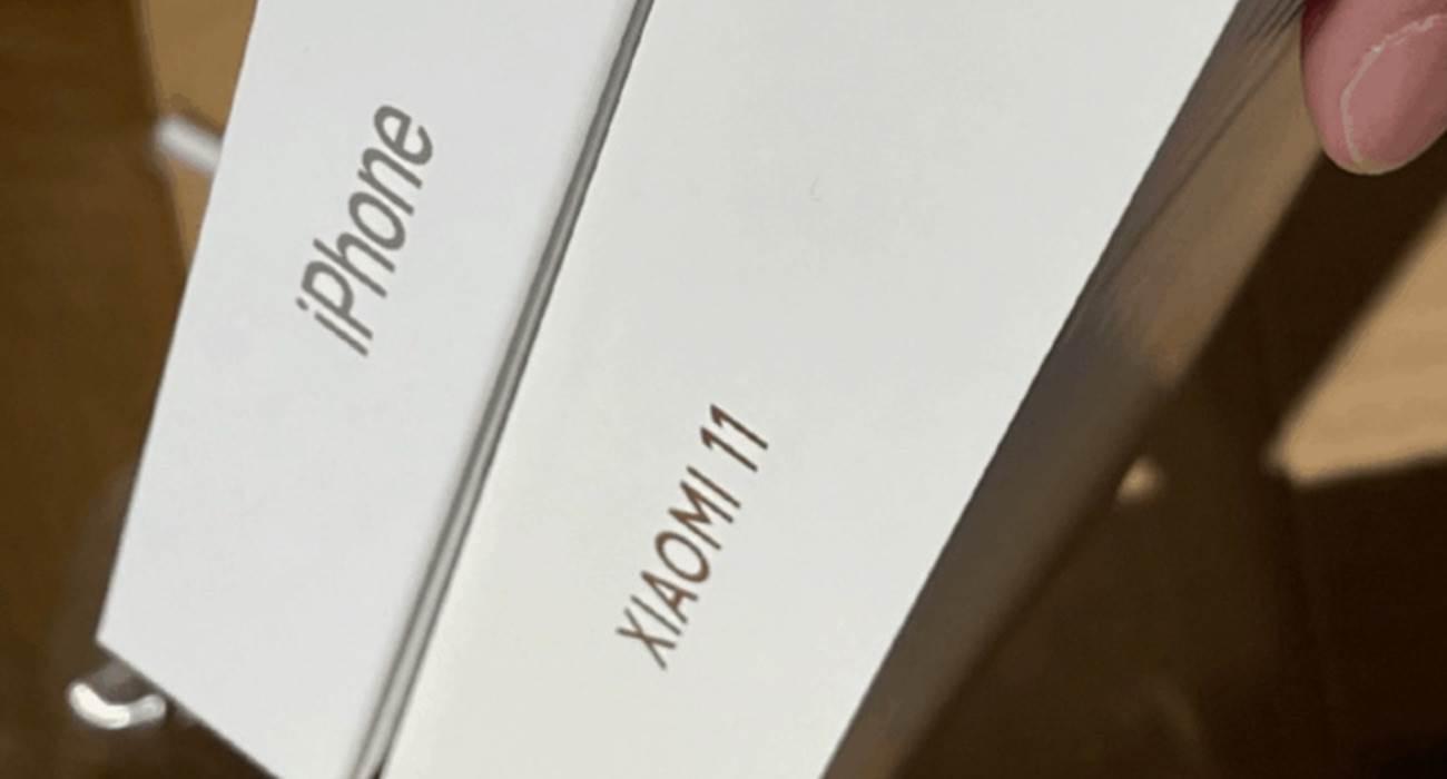 Chińczycy chcą, aby Apple poszło za przykładem Xiaomi i dało kupującemu wybór - iPhone z ładowarką w pudełku lub bez polecane, ciekawostki Xiaomi Mi 11  Użytkownicy chińskiej sieci społecznościowej Weibo zasugerowali, aby Apple poszło za przykładem Xiaomi i dało kupującym iPhone wybór - smartfon z ładowarką w pudełku lub bez. XiaomiMi11