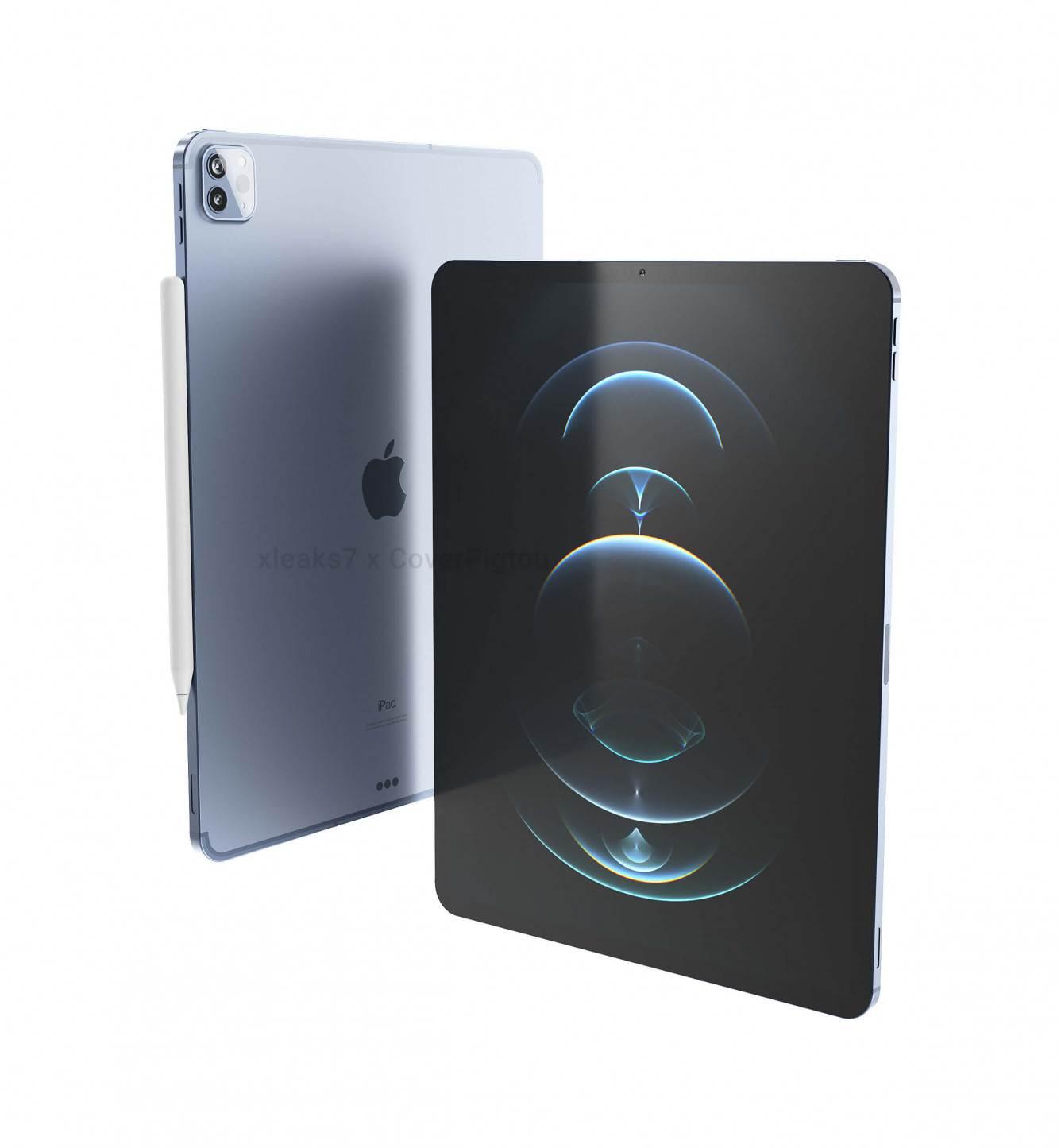 W sieci pojawiły się wysokiej jakości rendery iPad Pro 2021 ciekawostki rendery, iPad Pro 2021, CAD, Apple  Po informacjach o niewielkich zmianach jakie pojawia się w przyszłych tabletach firmy Apple, David Kowalski udostępnił oparte na CAD rendery nadchodzących 11-calowych i 12,9-calowych iPadów Pro. apple ipad pro 2021 1
