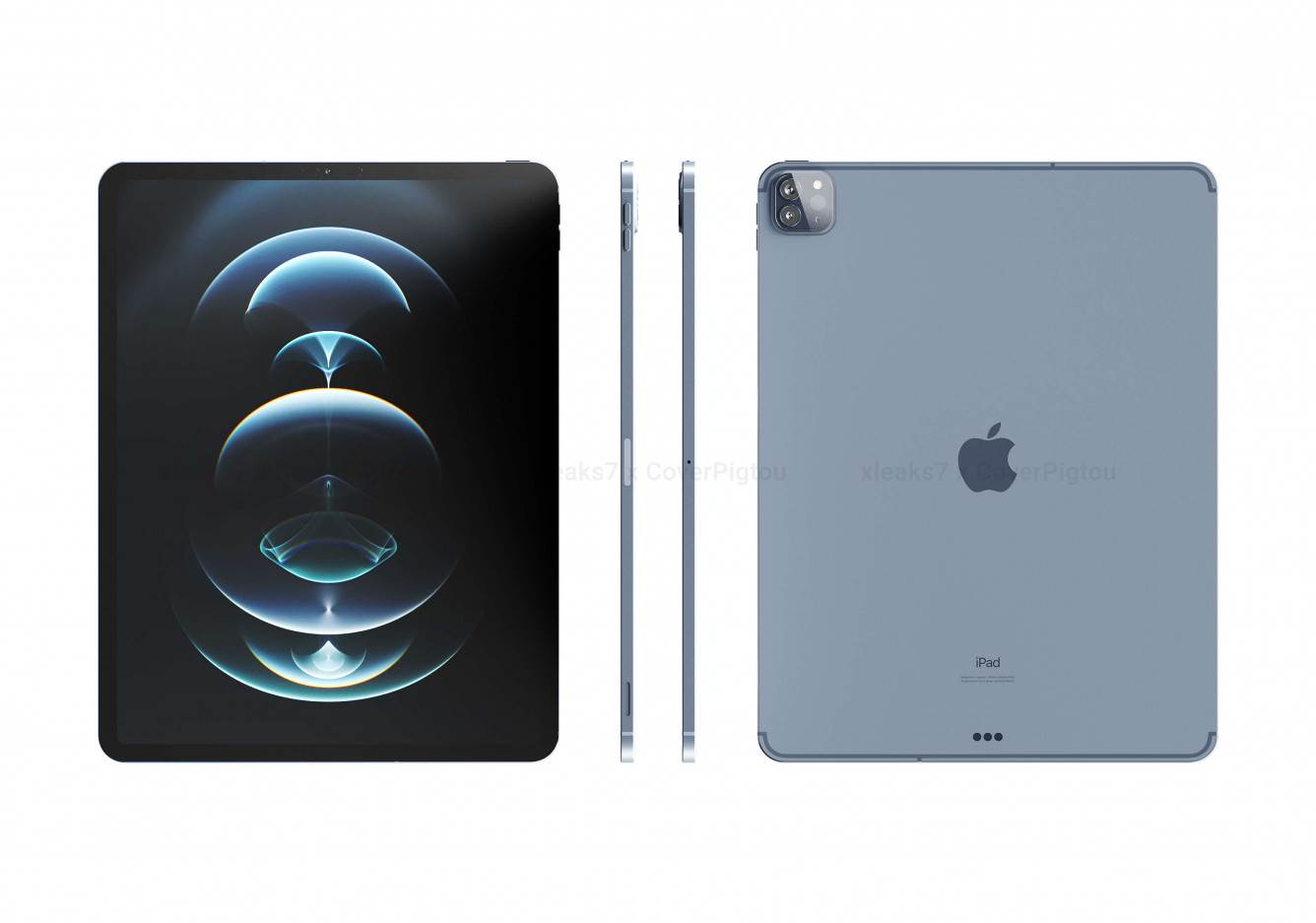 W sieci pojawiły się wysokiej jakości rendery iPad Pro 2021 ciekawostki rendery, iPad Pro 2021, CAD, Apple  Po informacjach o niewielkich zmianach jakie pojawia się w przyszłych tabletach firmy Apple, David Kowalski udostępnił oparte na CAD rendery nadchodzących 11-calowych i 12,9-calowych iPadów Pro. apple ipad pro 2021 2