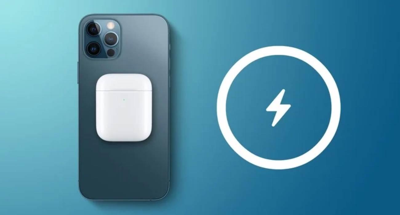 iPhone 12 ma opcję dwukierunkowego ładowania bezprzewodowego, ale jest ona systemowo wyłączona polecane, ciekawostki iPhone 12, dwukierunkowe ładowanie, Apple  Zgodnie z dokumentami certyfikacyjnymi Apple złożonymi w US FCC, wszystkie modele iPhone'a 12 są wyposażone w ukrytą funkcję odwrotnego ładowania bezprzewodowego, którą firma może aktywować zdalnie w przyszłości.  iPhone12Pro 2