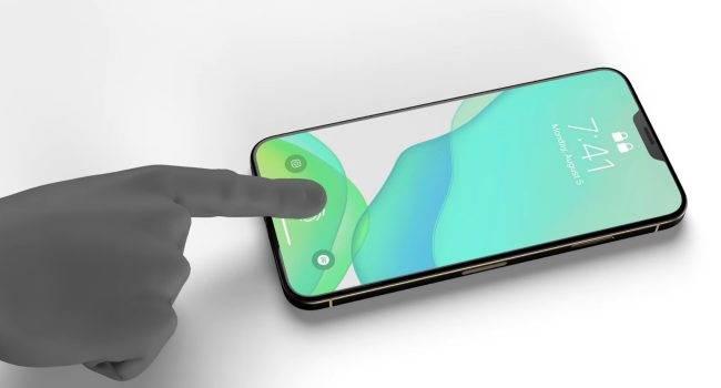 Szykuje się wielki powrót Touch ID do iPhone ciekawostki iphone 13 touch id, iphone 13 release date, iphone 13 pro touch id, iphone 13 pro kiedy premiera, iphone 13 pro colors, iphone 13 pro cena, iPhone 13 Pro, iphone 13 pink, iPhone 13  Według dziennikarza Bloomberga Marka Gurmana, Apple rozważa przywrócenie skanera linii papilarnych Touch ID do swoich smartfonów. iPhone13 2 650x350