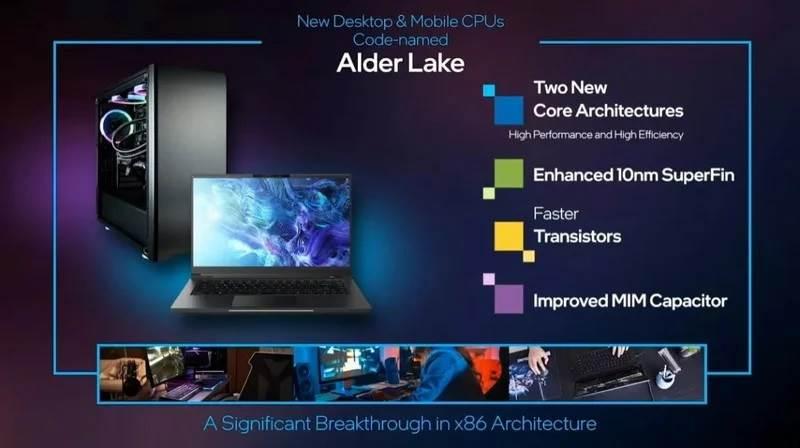 Intel zapowiada procesory Alder Lake o architekturze podobnej do chipów M1 firmy Apple polecane, ciekawostki procesor, Intel Alder Lake, intel, Alder Lake  Dzisiaj, 12 stycznia, firma Intel oficjalnie ogłosił dwunastą generację procesorów Alder Lake do komputerów stacjonarnych i urządzeń mobilnych. intel alder lake