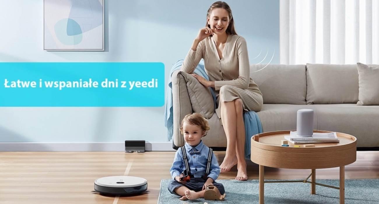 Najnowszy robot sprzątający yeedi 2 hybrid z funkcją mapowania już w sprzedaży polecane, ciekawostki yeedi 2 hybrid, yeedi, robot sprzątający, Promocja, odkurzacz, cena  Autonomiczne roboty sprzątające na dobre zagościły w naszych domach. Jeszcze do niedawna wysoka cena tych urządzeń i słabość rozwiązań technicznych sprawiały, że był to ciekawy gadżet dla fanów nowych technologii, ale nie koniecznie sprzęt codziennego użytku. yeedi 1 1