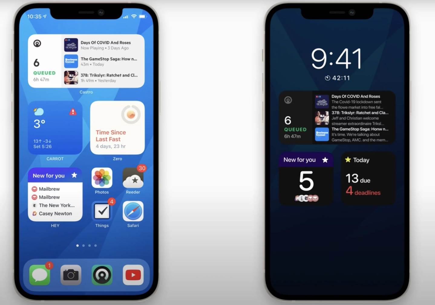 iPhone 12S z Always-On Display - czy tak będzie wyglądał najnowszy smartfon Apple? polecane, ciekawostki zawsze włączony ekran, Wideo, koncept, iPhone 13, iPhone 12s, Apple, Always on Display  W poniedziałek informowaliśmy, że iPhone 12s może mieć być wyposażony w funkcję Always-On Display. Zaledwie kilka dni po tej informacji w sieci pojawił się pierwszy koncept pokazujący jak może to wyglądać. A 4