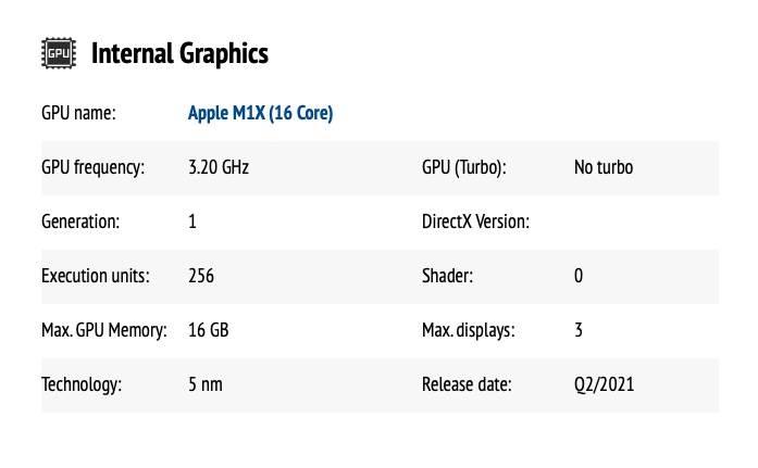 W sieci powiła się specyfikacja nowego procesora Apple M1X polecane, ciekawostki wydajność, test procesora M1X, test, procesor M1X, czip M1X, czip Apple M1X, Apple M1X  Przyszły procesor Apple M1X przeznaczony dla iMaków i laptopów firmy pojawił się na jednej z platform do testowania wydajności CPU Monkey. M1X 2
