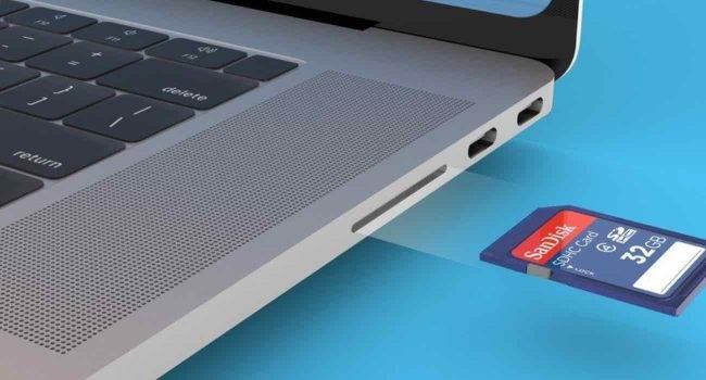 Kuo: Nowy MacBook Pro otrzyma gniazdo kart SD i port HDMI podcast, ciekawostki Macbook z hdi, MacBook Pro 2021, hdmi, czytnik kart  Analityk TFI Securities Ming-Chi Kuo powiedział w nowej notatce badawczej, że Apple planuje wypuścić dwa nowe modele MacBooka Pro z portem HDMI i gniazdem na kartę SD w drugiej połowie 2021 roku. Macbook 2 650x350