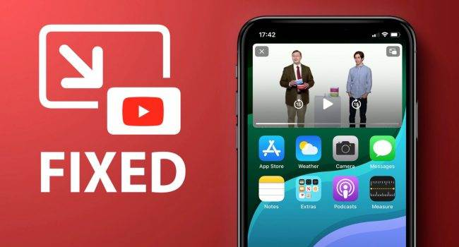 iOS 14.5 beta przywraca działanie funkcji ?Obraz w obrazie? na YouTube polecane, ciekawostki Youtube, uruchomienieobraz w obrazie, PiP w aplikacji YouTube, Obraz w obrazie, jak korzystac z pip w iPhone, iOS 14.5, iOS 14  iOS 14.5 beta przywraca działanie funkcji obraz w obrazie na YouTube, nawet bez konta YouTube Premium. YouTube Pip 650x350