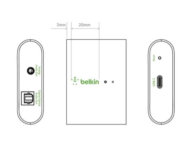 Belkin pracuje nad adapterem, który umożliwi słuchanie muzyki z iPhone, iPad na dowolnym głośniku przez AirPlay 2 polecane, ciekawostki Belkin Soundform Connect, Belkin adapter AirPlay 2, belkin, AirPlay 2, adapter  Firma Belkin pracuje nad nowym adapterem, który umożliwi użytkownikom podłączenie dowolnego głośnika przez AirPlay 2 i HomeKit. belkin airplay 2