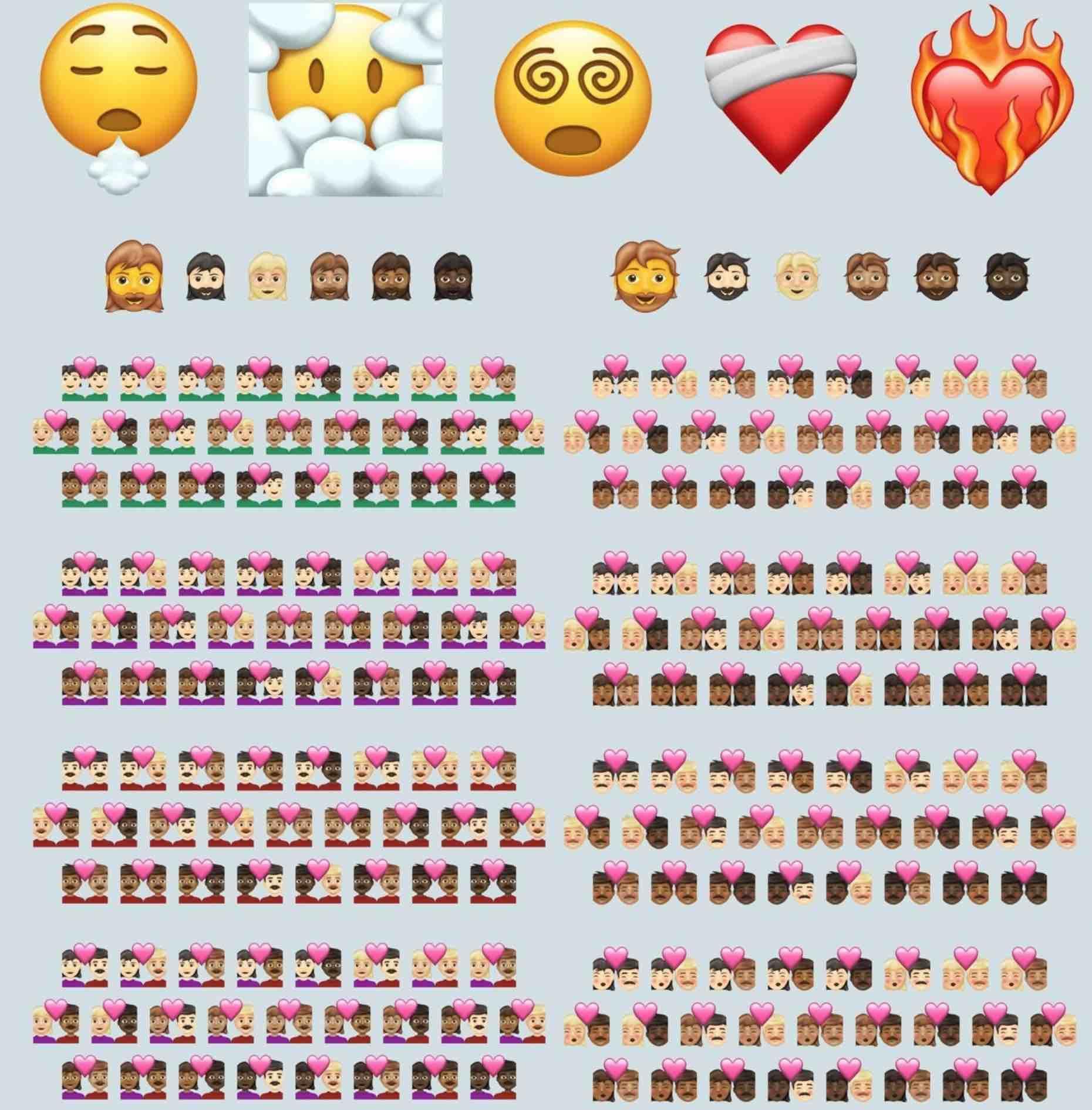 Tak wyglądają wszystkie nowe emoji w iOS 14.5 polecane, ciekawostki nowe emoji w iOS 14.5, iOS 14.5, emoji  Jedną ze zmian w udostępnionej dzisiaj becie iOS 14.5 jest dodanie przez Apple ponad 200 nowych emoji. Jeśli jesteście ciekawi jak wyglądają wszystkie nowe emoji w nowym systemie to zerknijcie poniżej. emoji 14.5