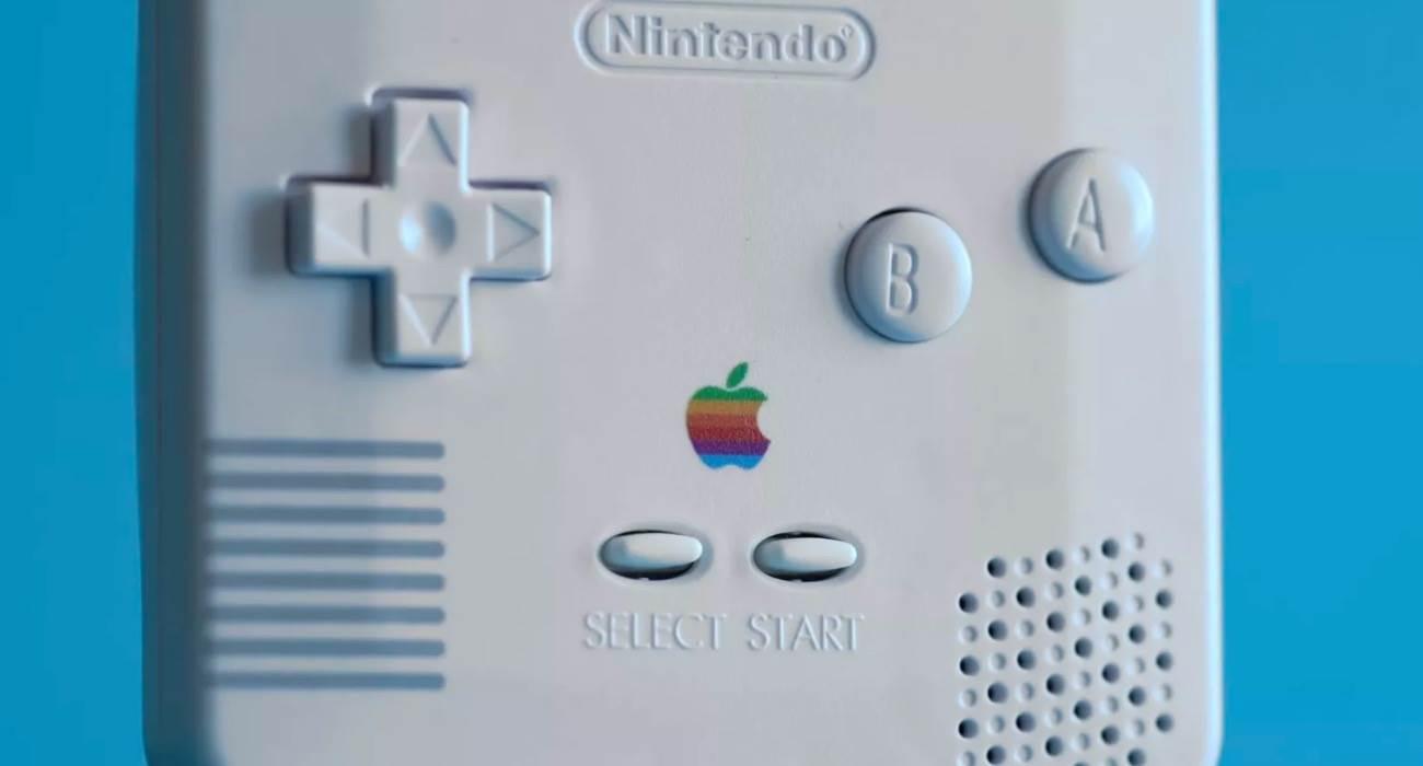 Włoski bloger zmienia Game Boy Color w pilota do Apple TV polecane, ciekawostki Wideo, pilot Apple TV, game boy jako pilot do Apple TV, Game Boy  Włoski bloger Otto Kliman zmodyfikował konsolę przenośną Game Boy Color i przekształcił ją w pilota do Apple TV. gameboy 1