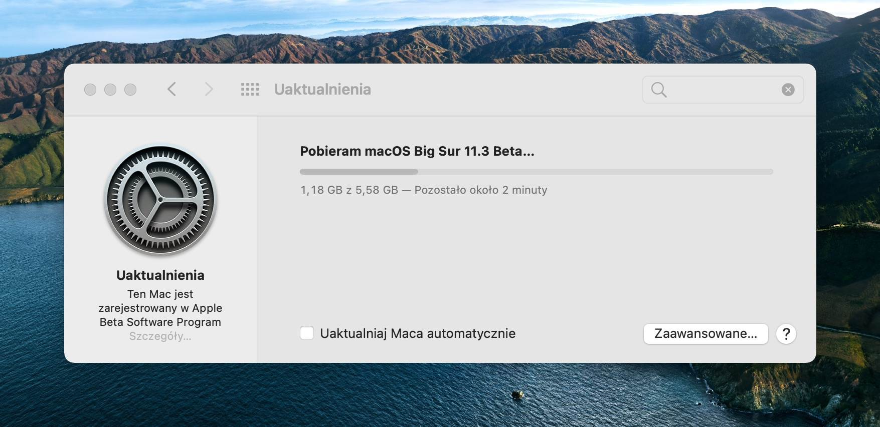 macOS Big Sur 11.3 beta 3 dostępny polecane, ciekawostki Nowości, macOS BigSur 11.3 beta 3, macOS Big Sur beta, lista zmian w macOS BigSur 11.3 beta 3, lista nowości, co nowego w macOS BigSur 11.3 beta 3, co nowego  Bardzo dobre wieści dla beta testów macOS. Właśnie teraz firma Apple udostępniła deweloperom macOS Big Sur 11.3 beta 3. macos11.3