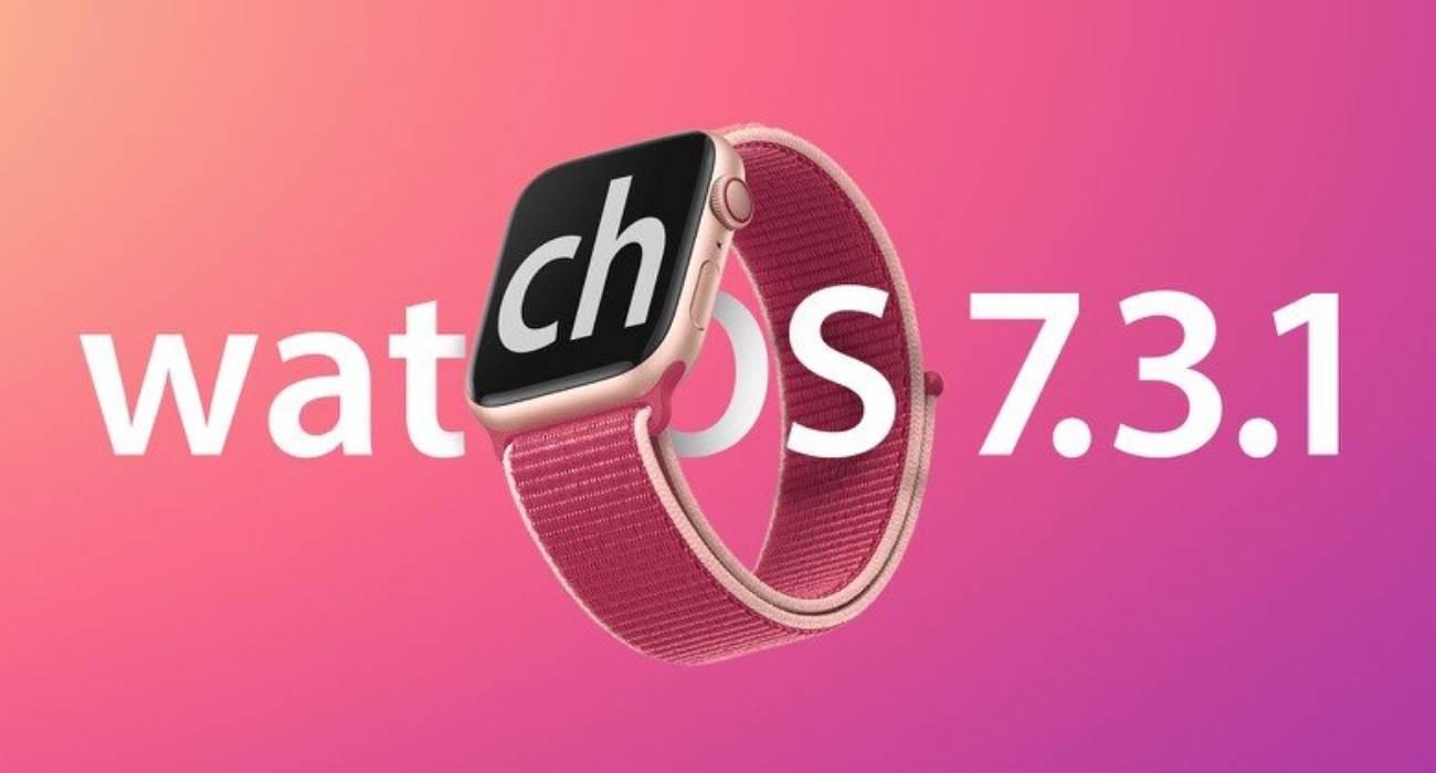 Apple wydało watchOS 7.3.1 dla Apple Watch Series 5 i SE polecane, ciekawostki watchOS 7.3.1, Update, lista zmian, co nowego  Firma Apple wydała małą aktualizację watchOS 7.3.1 dla Apple Watch Series 5 i SE, która rozwiązuje problemy z ładowaniem smartwatcha. watchOS7.3.1