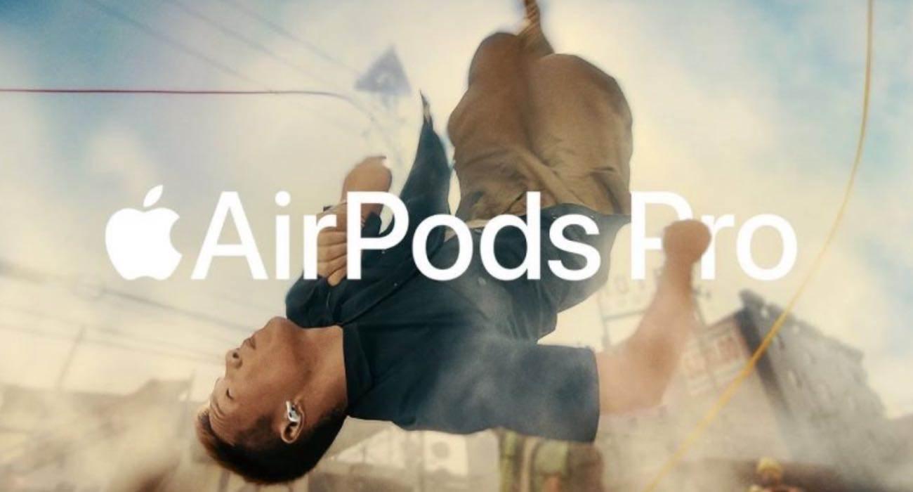 """""""Jump"""" - nowa reklama słuchawek AirPods Pro polecane, ciekawostki Wideo, reklama, Jump, AirPods Pro  W nocy na kanale firmy Apple pojawiła się nowa reklama ?Jump? poświęcona bezprzewodowym słuchawkom AirPods Pro  AirPodsPro"""