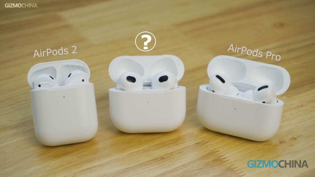 Chińczycy sprzedają już klony AirPods 3, które nie zostały jeszcze oficjalnie wydane polecane, ciekawostki Wideo, klony AirPods 3, chińskie klony AirPods 3, Apple, AirPods 3  Dziennikarze GizmoChina otrzymali już klony AirPods trzeciej generacji od jednego z chińskich producentów gadżetów. Zobaczcie je z bliska. Airpods3 1 1
