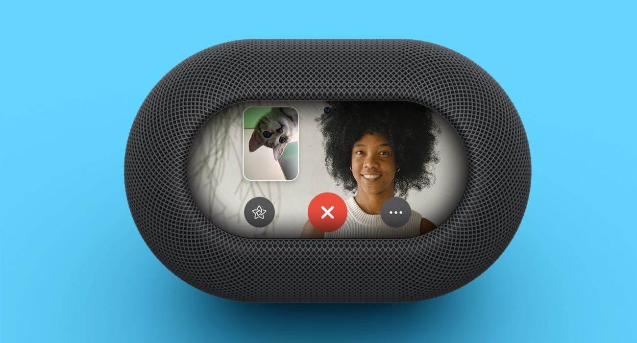 Apple pracuje nad HomePodem z ekranem i kamerą polecane, ciekawostki HomePod z kamerą, HomePod z ekranem i kamerą, HomePod, Apple  Apple opracowuje nowe inteligentne głośniki HomePod z ekranami i kamerami. Opowiedział o tym znany dziennikarz Bloomberg, Mark Gurman. HomePod