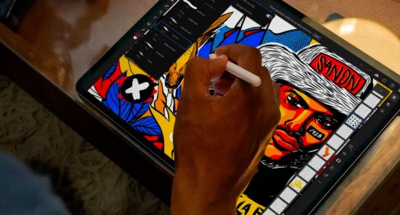 Firma Adobe uruchomiła subskrypcję pakietu aplikacji graficznych na iPada polecane, ciekawostki Photoshop, Pakiet, cena, Adobe  Firma Adobe wydała nowy pakiet aplikacji na iPada, w tym Photoshop, Illustrator, Fresco, Spark Post i Creative Cloud. PS 1