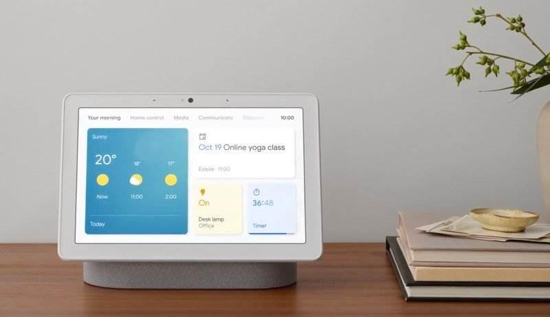 Apple pracuje nad HomePodem z ekranem i kamerą polecane, ciekawostki HomePod z kamerą, HomePod z ekranem i kamerą, HomePod, Apple  Apple opracowuje nowe inteligentne głośniki HomePod z ekranami i kamerami. Opowiedział o tym znany dziennikarz Bloomberg, Mark Gurman. google nest hub max