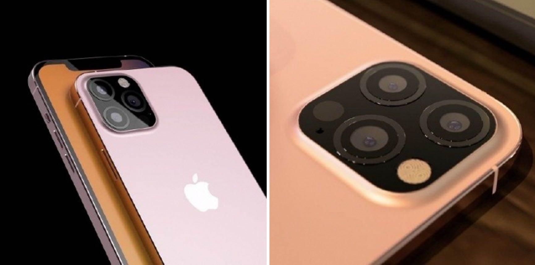 Powrót do korzeni. Różowy iPhone 12s Pro z nowym aparatem pokazany na renderach polecane, ciekawostki rendery, iPhone 12s Pro, iPhone 12s  W sieci pojawiły się nowe nieoficjalne rendery iPhone?a 12s w różowym kolorze i blokiem kamery w stylu iPhone?a 7. Jak Wam się podoba? iPhone12s 2