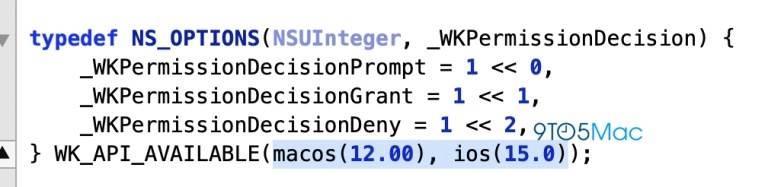 Pierwsze wzmianki o iOS 15 i macOS 12 odnalezione w Apple WebKit ciekawostki macOS 12, iOS 15  Programiści znaleźli pierwsze wzmianki o iOS 15 i macOS 12 w niedawno zaktualizowanym kodzie Apple WebKit. ios 15 webkit