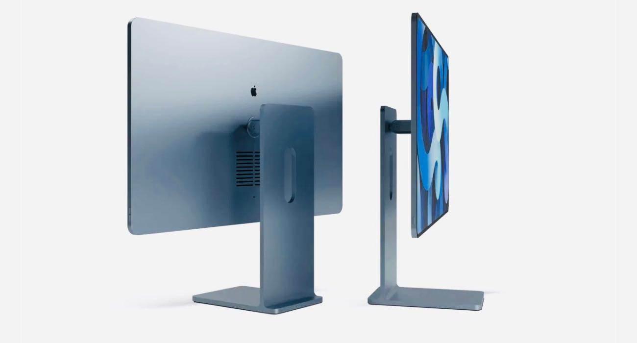 Piękna wizja iMac 2021 polecane, ciekawostki Wizja, Wideo, koncept, iMac 2021  Projektanci ConceptsiPhone i Khahn Design udostępnili film przedstawiający piękną koncepcję nowego Apple iMac 2021 w stylu iPad Pro i Pro Display XDR. iMac2021