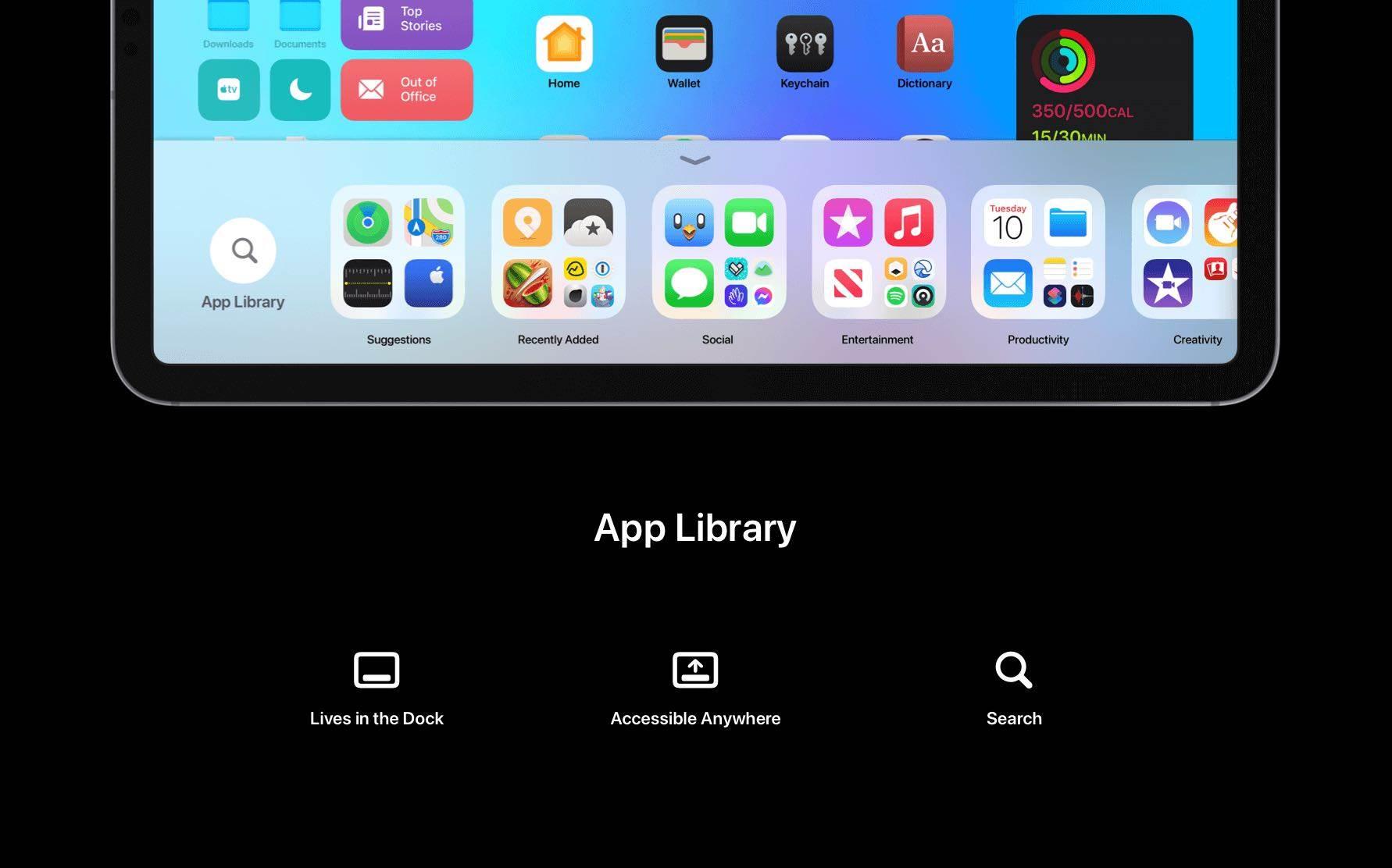 Świetna i bardzo realna koncepcja iPadOS 15 polecane, ciekawostki Premiera, koncept, iPadOS 15, iPad  Oficjalna prezentacja iPadOS 15 odbędzie już 7 czerwca 2021 roku podczas WWDC 2021, więc w sieci z dnia na dzień będzie pojawiać się coraz więcej konceptów tegorocznych systemów Apple. iPadOS15 1