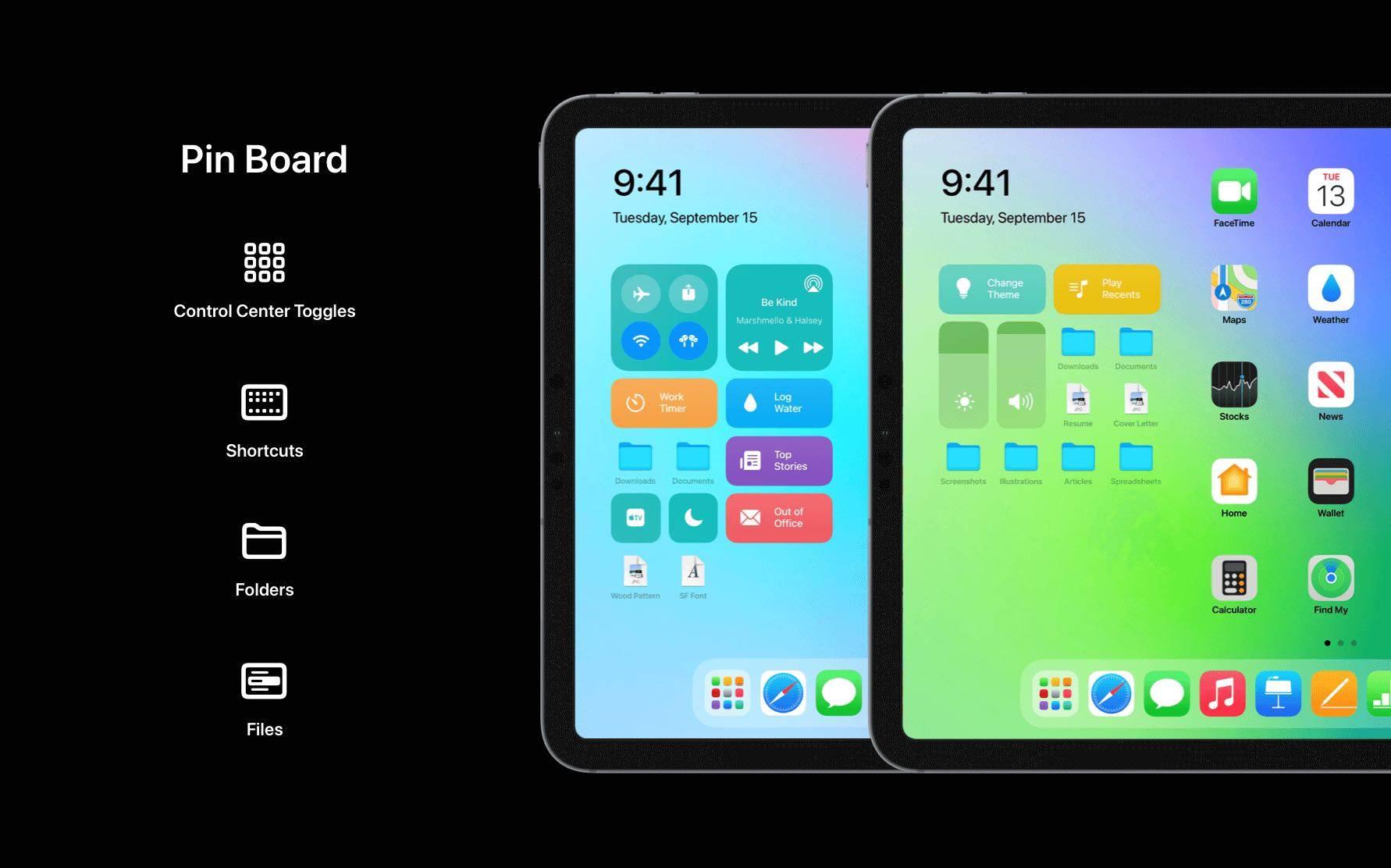 Świetna i bardzo realna koncepcja iPadOS 15 polecane, ciekawostki Premiera, koncept, iPadOS 15, iPad  Oficjalna prezentacja iPadOS 15 odbędzie już 7 czerwca 2021 roku podczas WWDC 2021, więc w sieci z dnia na dzień będzie pojawiać się coraz więcej konceptów tegorocznych systemów Apple. iPadOS15 4