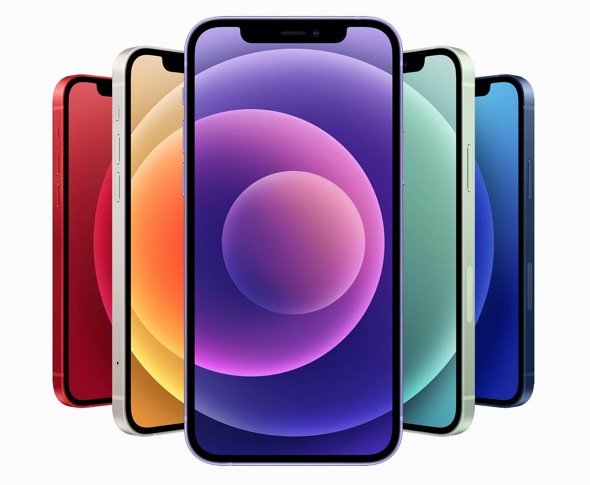 Apple przedstawia nowego fioletowego iPhone'a 12 i 12 mini polecane, ciekawostki iPhone 12, fioletowy iPhone 12 mini, fioletowy iPhone 12, Apple  Firma Apple zaprezentowała dziś nowego iPhone'a 12 i iPhone'a 12 mini w nowym fioletowym kolorze. Urządzenie będzie można kupić w przedsprzedaży już w najbliższy piątek. iPhone12 fioletowy