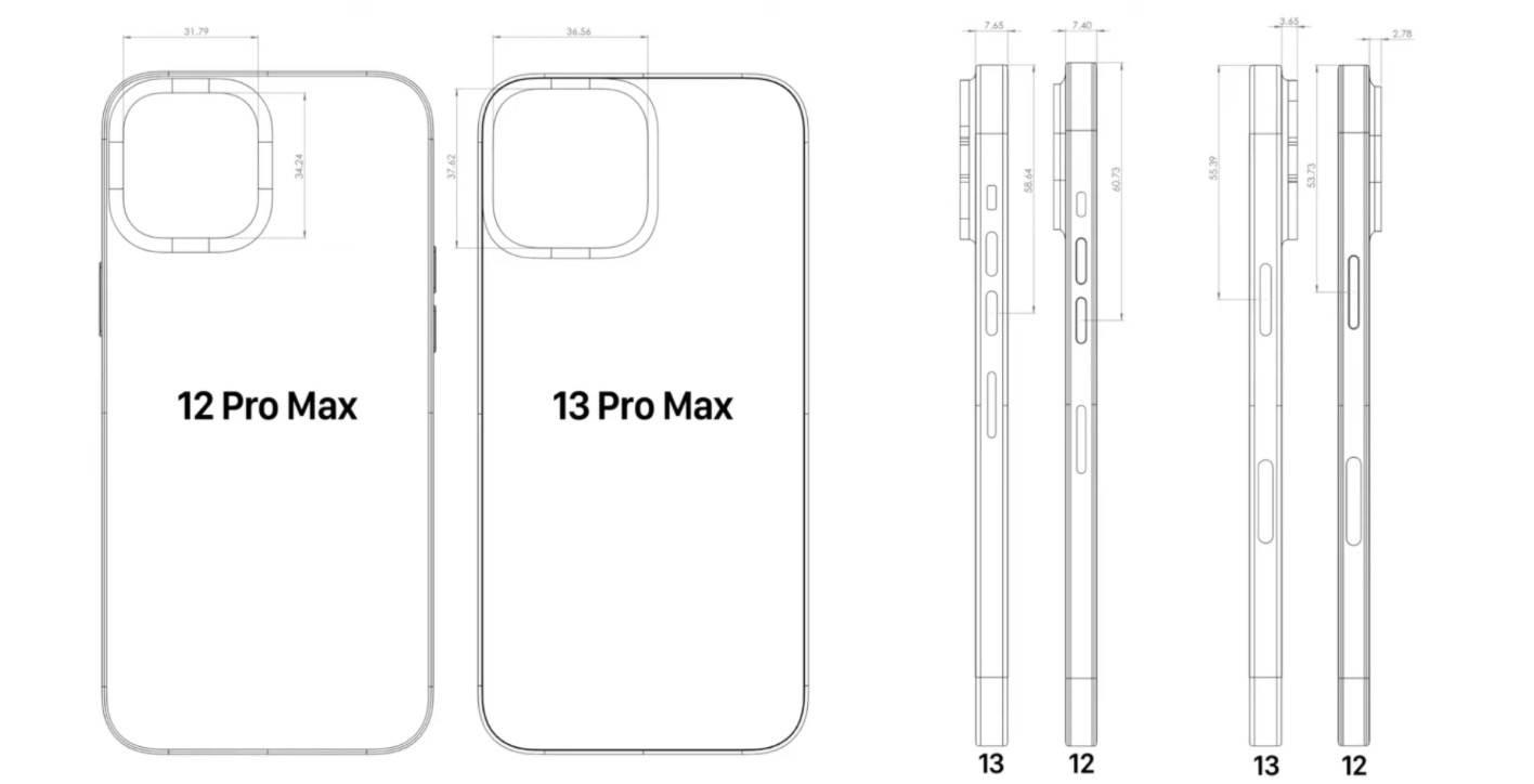 Schematy iPhone 13 / 13 Pro zdradzają jego ostateczny wygląd polecane, ciekawostki wygląd iPhone 13 Pro, wygląd, schemat, iPhone 13 Pro, iPhone 13, Apple  Chociaż do premiery iPhone 13 i iPhone 13 Pro zostało jeszcze sporo czasu, już dziś najprawdopodobniej poznaliśmy ostateczny wygląd tegorocznych smartfonów giganta z Cupertino. iPhone13 schemat