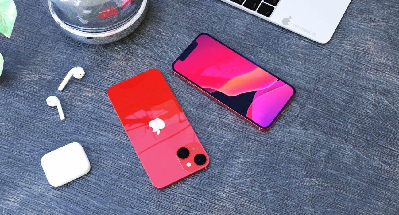 W sieci pojawiły się pierwsze rendery iPhone 13 mini polecane, ciekawostki rendery, iPhone 13 mini, Apple  Projektanci SvetApple udostępnili pierwsze renderingi nadchodzącego iPhone 13 mini z ?ukośnym? układem kamer, które są oparte na wcześniej opublikowanych rysunkach CAD. iPhone13mini