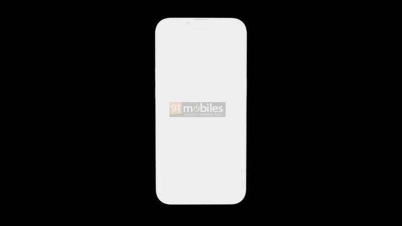 Aparaty w iPhone 13 Pro będą większe, a sam smartfon grubszy polecane, ciekawostki rendery, iPhone 13 Pro max, iPhone 13 Pro, Apple  Dziennikarze 91Mobiles otrzymali trójwymiarowy rysunek przyszłego iPhone 13 Pro, który ujawnia pewne zmiany w konstrukcji smartfona. iphone 13 pro render notch
