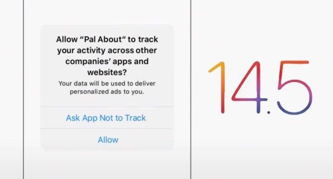 Apple wyjaśnia, jak działa przejrzystość śledzenia aplikacji w iOS 14.5 polecane, ciekawostki Wideo, przejrzystość śledzenia aplikacji, przejrzystość aplikacji, iOS 14.5, Apple, App Tracking Transparency  Wraz z wydaniem iOS 14.5 firma Apple wprowadziła nową funkcję ?przejrzystość śledzenia aplikacji?, która uniemożliwia programistom uzyskanie dostępu do identyfikatora reklamowego iPhone'a, iPada lub Apple TV bez zgody użytkownika.  przejzystosc 650x350