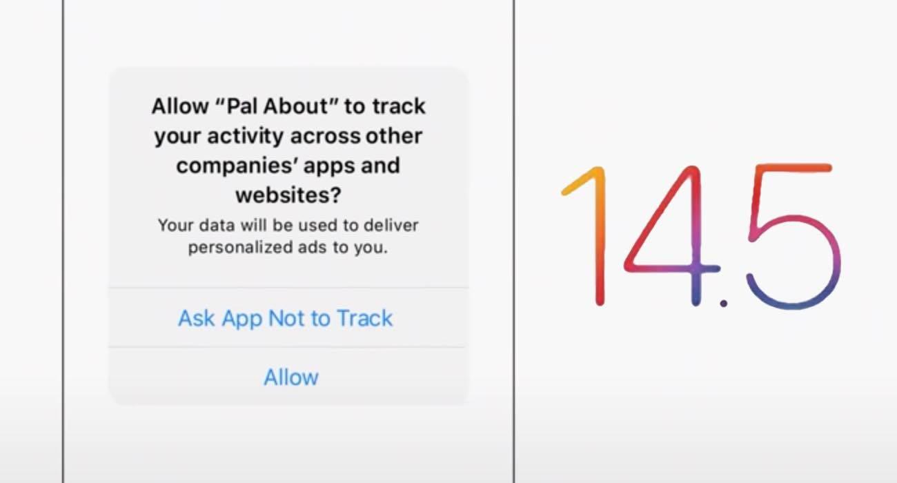 Apple wyjaśnia, jak działa przejrzystość śledzenia aplikacji w iOS 14.5 polecane, ciekawostki Wideo, przejrzystość śledzenia aplikacji, przejrzystość aplikacji, iOS 14.5, Apple, App Tracking Transparency  Wraz z wydaniem iOS 14.5 firma Apple wprowadziła nową funkcję ?przejrzystość śledzenia aplikacji?, która uniemożliwia programistom uzyskanie dostępu do identyfikatora reklamowego iPhone'a, iPada lub Apple TV bez zgody użytkownika.  przejzystosc