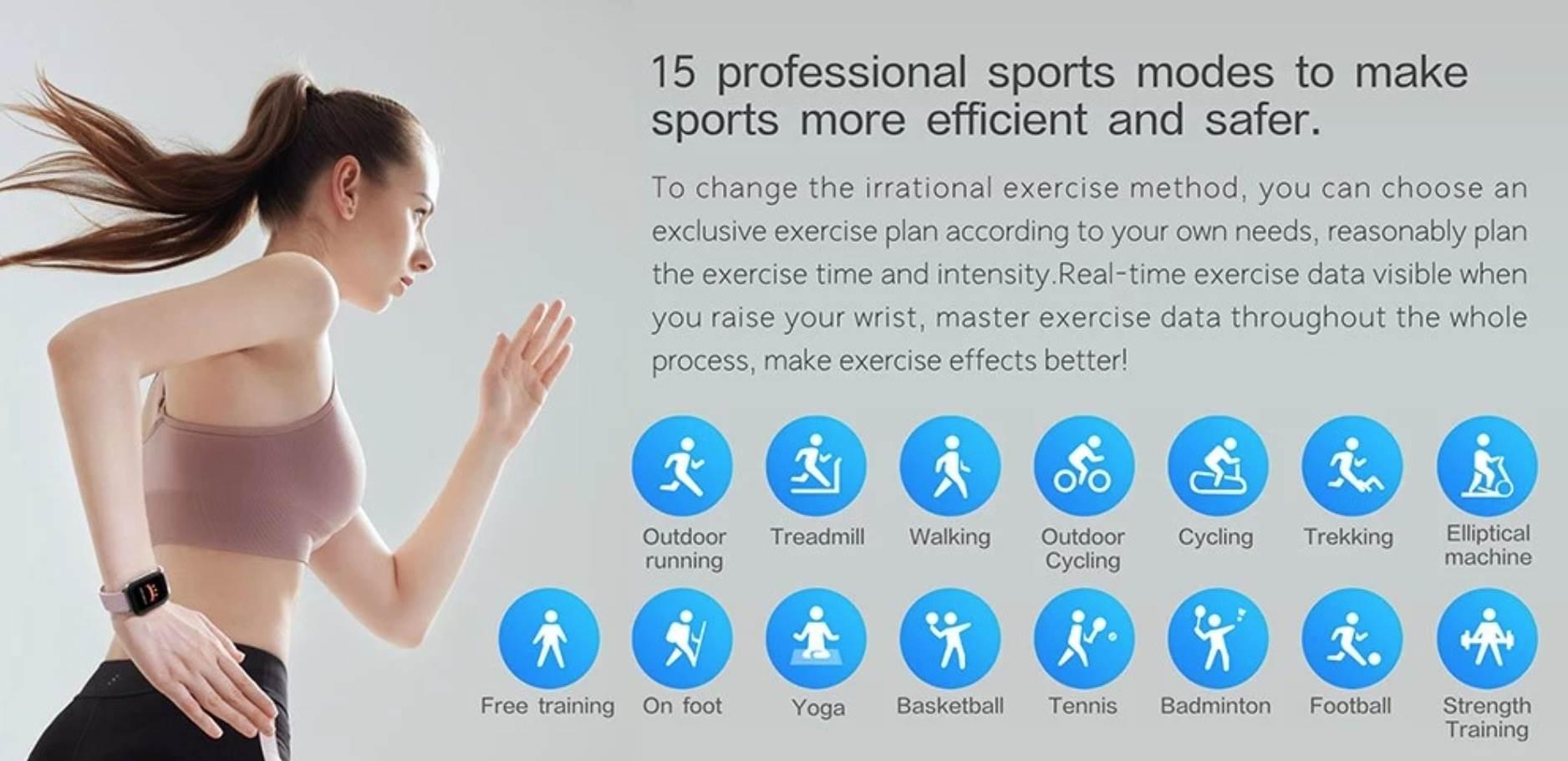 Mibro - tani, sportowy smartwatch z 15 trybami sportowymi ciekawostki tani smartwatch, smartwatch w niskiej cenie, promcja, Mibro XPAW002, dobry i tani smartwatch  Szukacie fajnego i taniego SmartWatcha, który będzie śledzić Waszą aktywność? Jeśli tak to tamy dla Was coś bardzo fajnego - Mibro XPAW002. 1@2x 3