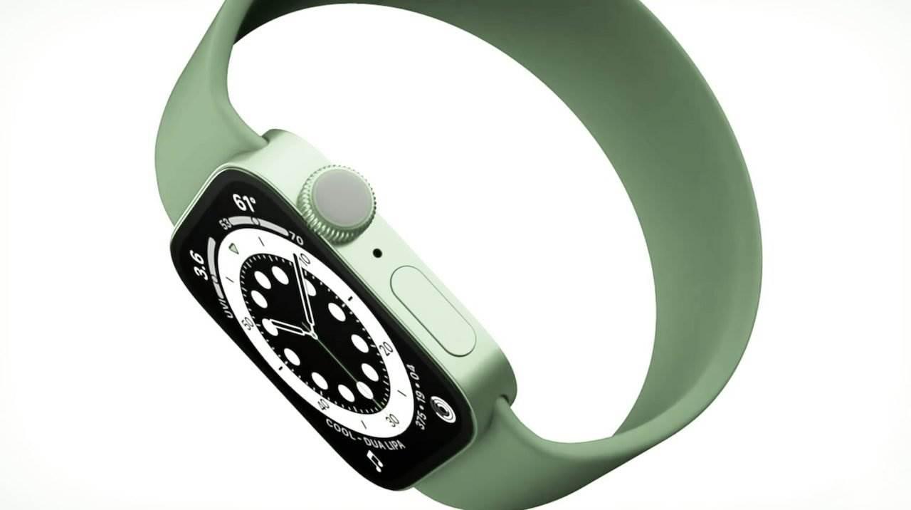 Apple Watch Series 7 będzie miał płaskie ramki podobne do iPhone'a 12 polecane, ciekawostki Wideo, Apple Watch Series 7, Apple  Jak podaje John Prosser wygląd Apple Watch Series 7 zmieni się i to bardzo mocno. SmartWatch będzie miał płaski ramki podobne do tych w iPad Pro i iPhone 12. ApleWatch7 1
