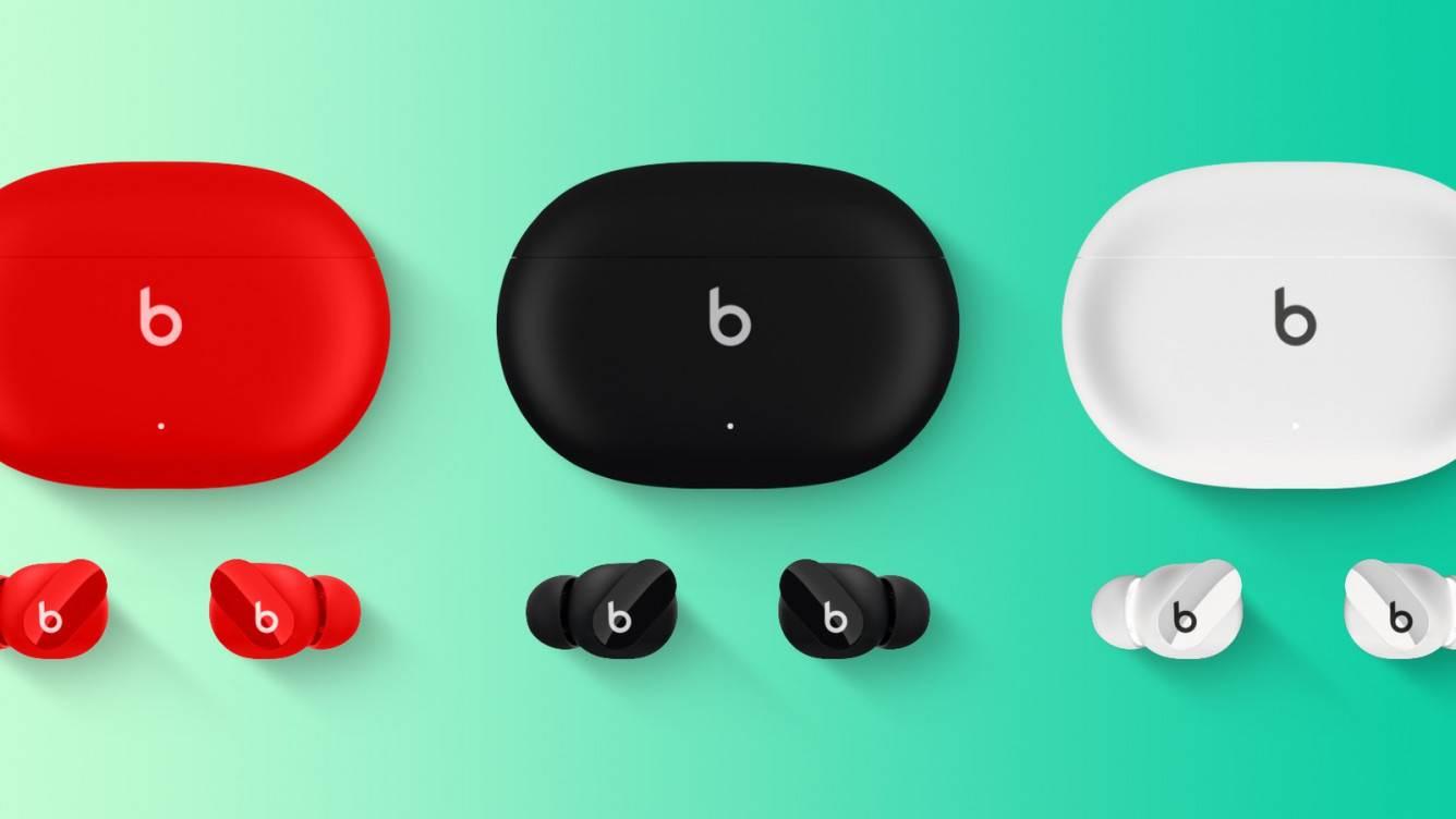 Nowe słuchawki Beats Studio Buds odnalezione w iOS 14.6 polecane, ciekawostki Wideo, Beats Studio Buds  Deweloper Steve Moser odkrył animacje niezapowiedzianych Beats Studio Buds w wydanych wczoraj wersjach iOS 14.6 RC i tvOS 14.6 RC. beats2
