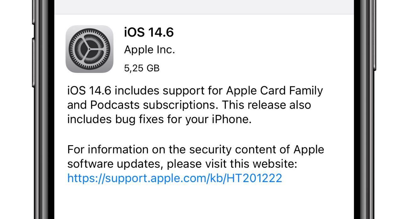 iOS 14.6 - oficjalna lista zmian polecane, ciekawostki zmiany, oficjalna lista zmian, nowosci w iOS 14.6, Nowości, lista zmian w iOS 14.6, lista zmian, iOS 14.6, co nowego w iOS 14.6, co nowego  Interesuje Cię co nowego znalazło się w udostępnionej kilka chwil temu przez Apple wersji systemu iOS 14.6 RC? Jeśli tak to poniżej mamy pełną i oficjalną listę zmian. iOS14.6RC
