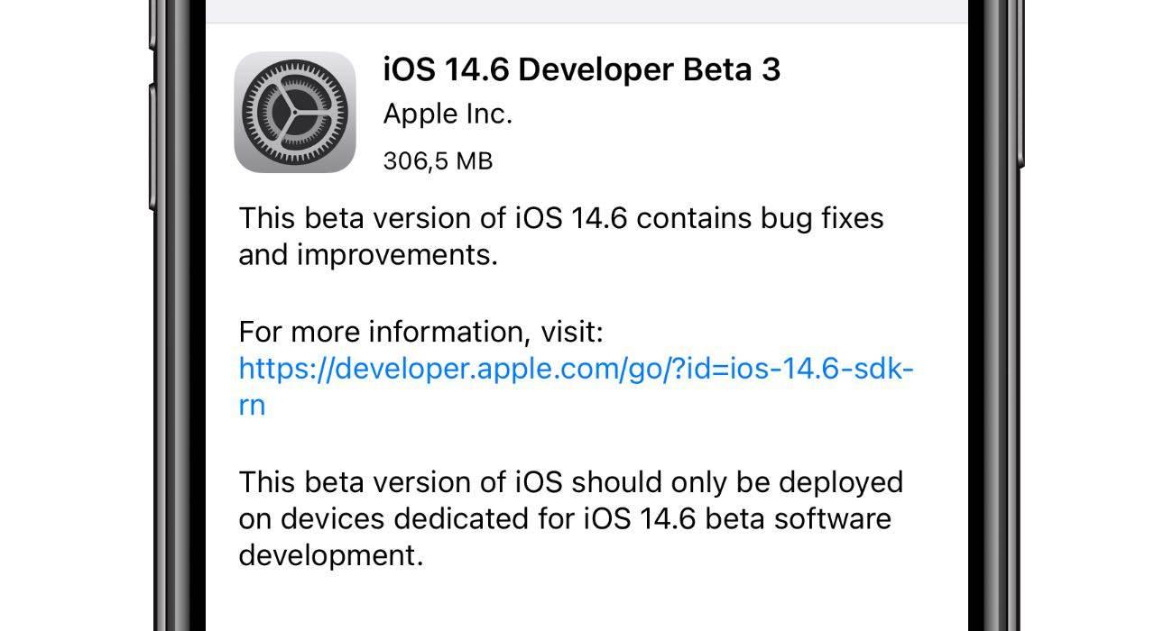 Apple wypuszcza iOS 14.6   iPadOS 14.6 beta 3 - co nowego? Oto lista zmian polecane, ciekawostki zmiany, Update, lista zmian, iPadOS 14.6 beta 3, iPadOS 14.6, iOS 14.6 beta 3, iOS 14.6, co nowego, Apple, Aktualizacja  Dobre wieści dla deweloperów. Właśnie w menu Uaktualnienia w Waszych iUrządzeniach pojawiła się trzecia testowa wersja iOS 14.6 oraz iPadOS 14.6. Co nowego? Poniżej lista zmian. iOS14.6beta3