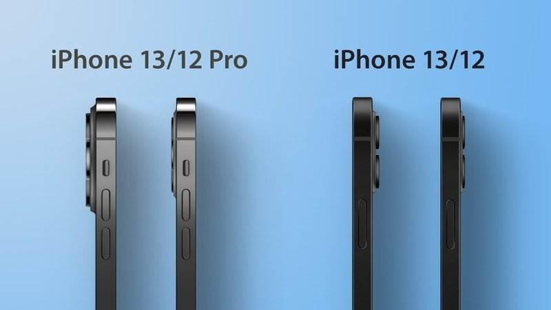 iPhone 13 / 13 Pro będzie grubszy. Zobacz najnowsze porównanie z iPhone 12 / 12 Pro ciekawostki wymiary, iPhone 13 Pro max, iPhone 13 Pro, iPhone 13, Apple  Portal MacRumors otrzymał schematy iPhone'a 13 i pokazał dokładną różnicę między przyszłymi smartfonami Apple a obecną serią iPhone 12. iPhone 13 bok