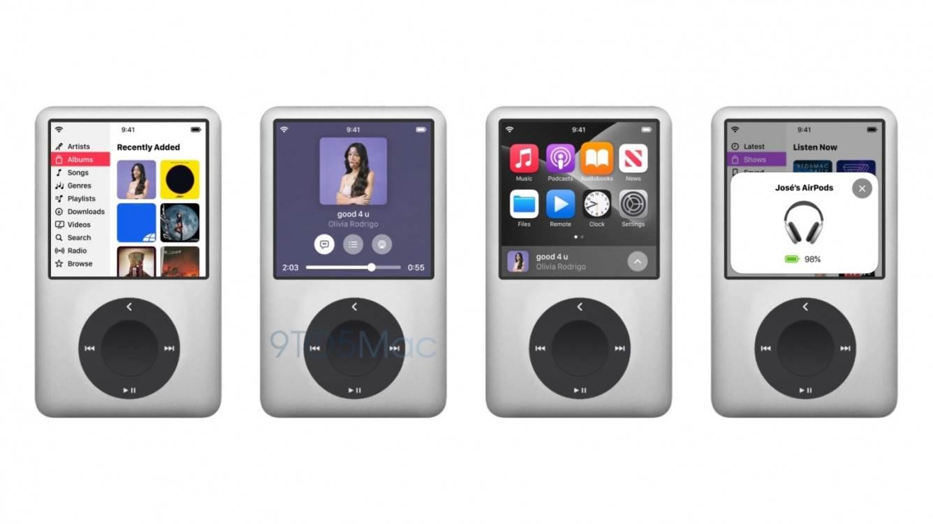 iPod Max i AirPods Max 2 z obsługą Apple Lossless - koncept polecane, ciekawostki koncept, iPod Max, AirPods Max 2  Apple może wydać jesienią nowy odtwarzacz muzyczny, aby uczcić 20. rocznicę powstania oryginalnego iPoda. Na tle tych plotek projektant Parker Ortolani stworzył piękną koncepcję iPoda Max i nowej generacji słuchawek AirPods Max. iPodMax 3