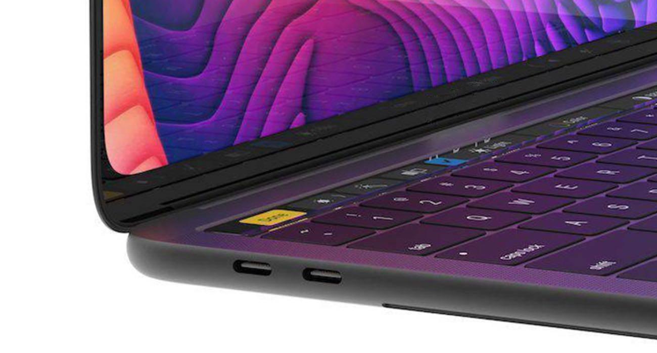 Apple usunie logo MacBook Pro w modelu 2021 polecane, ciekawostki MacBook Pro 2021, Apple  Chip M1, który początkowo nie był traktowany poważnie, a następnie wywołał panikę, już nikogo nie przeraża. Następny ?kryształ? Apple zadebiutuje w tym roku w 14 i 16-calowych MacBook Pro.  macbookpro2021