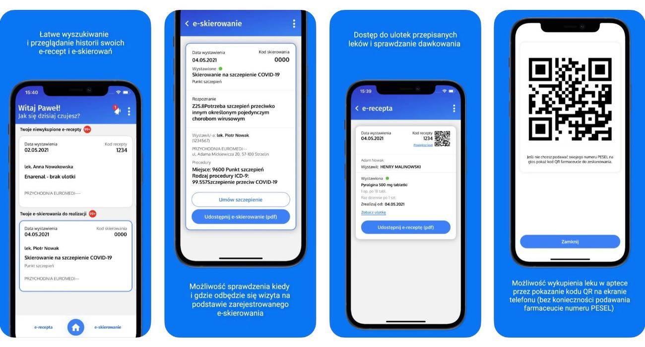 Zapisz się na szczepienie z iPhone?a. W App Store pojawiła się aplikacja mojeIKP polecane, ciekawostki skierowanie na szczepienie, pobierz, mojeIKP, moje internetowe konto pacjenta, iPhone, iOS, e-skierowanie, e-recepta, COVID-19, Apple, aplikacja mojeIKP, aplikacja Ministerstwa Zdrowia  W App Store pojawiła się nowa bezpłatna aplikacja Ministerstwa Zdrowia o nazwie mojeIKP, dzięki której można m.in. zapisać się na szczepienie przeciw COVID-19. mojeikp