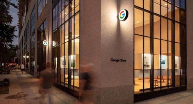 Google Store, czyli pierwszy stacjonarny sklep Google, który wygląda jak?.. polecane, ciekawostki nowy jork, Google Store, Google  Dziś, 17 czerwca firma Google otworzy swój pierwszy stacjonarny sklep w Nowym Jorku. W sieci pojawiły się zdjęcia zdradzające wygląd nowego salonu. Co Wam to przypomina? GoogleStore 650x350