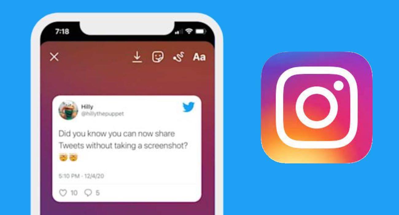 Użytkownicy iOS mogą już udostępniać swoje tweety w Instagram Stories polecane, ciekawostki   Twitter dodał w swojej aplikacji na iOS nową funkcję, która umożliwia udostępnianie tweetów w Instagram Stories.  Instagram 1