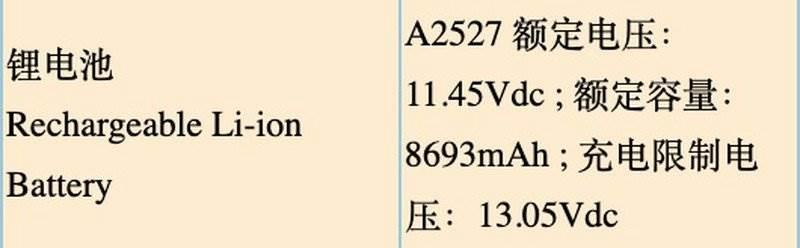Dostawca Apple zdradza pojemność baterii nowych MacBooków Pro ciekawostki pojemnosć, MacBook Pro, M1X, bateria, Apple M1X  Dzień przed oficjalnym startem WWDC 2021 w bazie chińskich dokumentów regulacyjnych pojawiły się dane dotyczące akumulatorów rzekomych 14- i 16-calowych MacBooków Pro, które mogą zostać zaprezentowane już jutro. M1